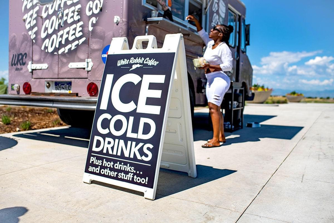 Ice Cold Drinks on a super hot day