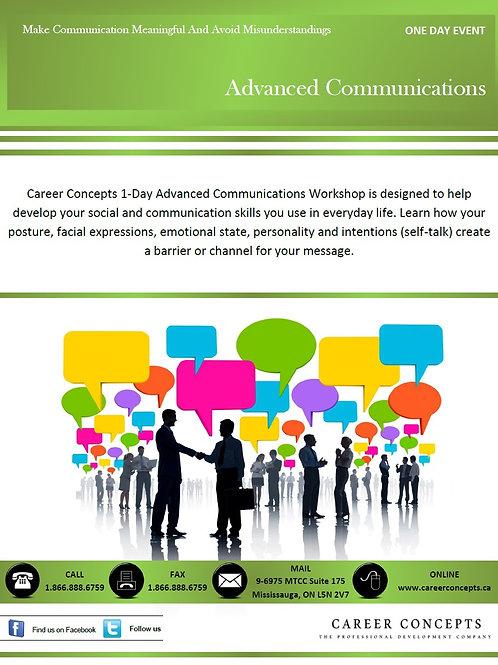 Advanced Communications - Intensive Body Language Workshop