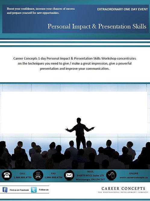 Personal Impact & Presentation Skills