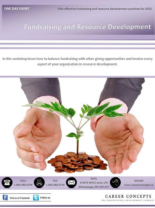Fundraising and Resource Development