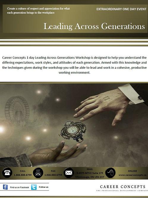Leading Across Generations