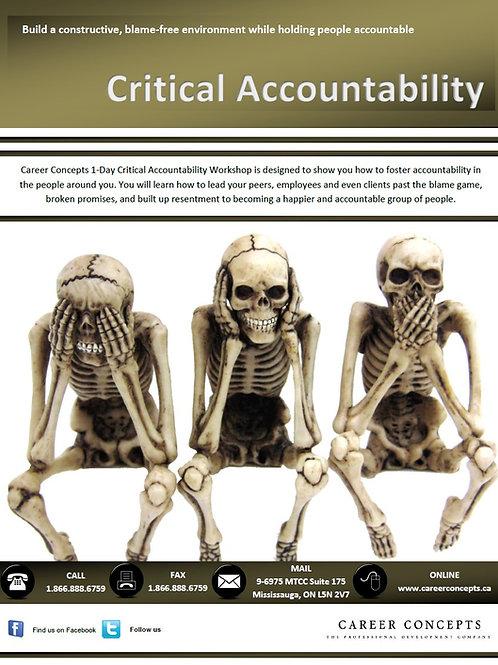 Critical Accountability