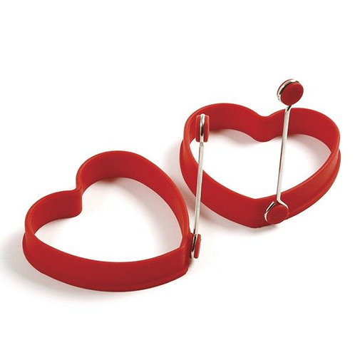 HEART PANCAKE EGG RINGS 2 PC NORPRO 028901509996