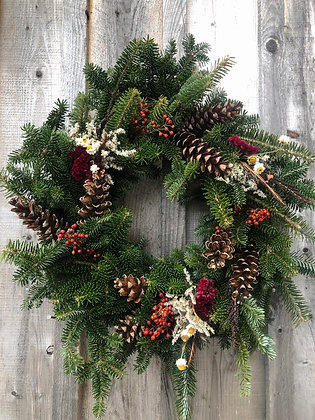 Large Frasier & Balsam Wreath