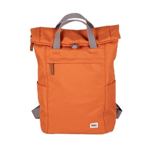 ROKA Sustainable Backpack - FINCHLEY A - SMALL - Atomic Orange
