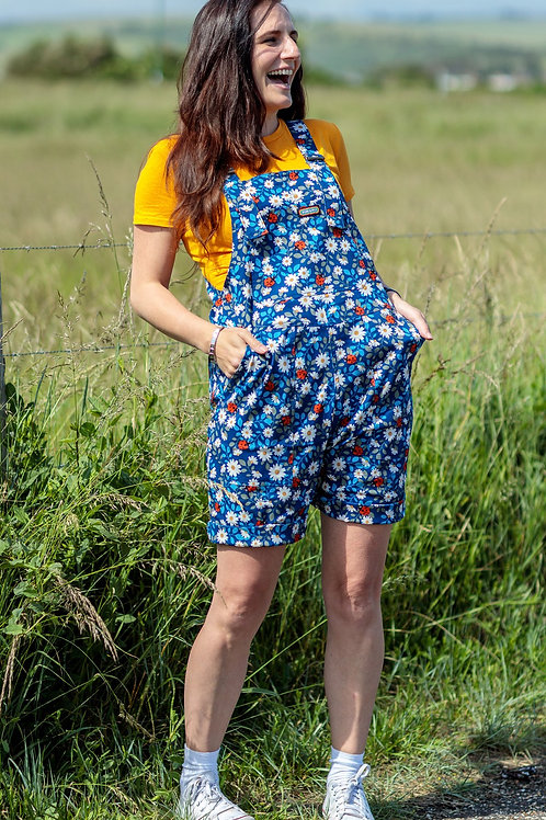 Daisy & Ladybird Dungaree Shorts