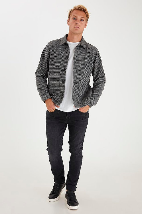 Black & white checked  jacket