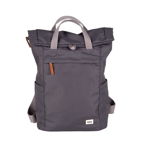 ROKA Sustainable Backpack - FINCHLEY A - SMALL - Carbon
