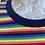 Thumbnail: Rainbow striped long sleeved tee