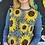 Thumbnail: Sunflower powder blue jumper - full length