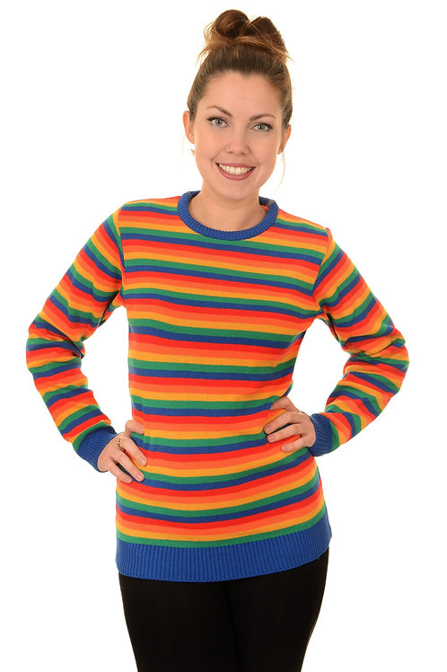 Unisex Rainbow jumper by Run & Fly