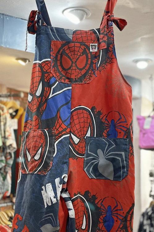 Spider Man dungarees shorts