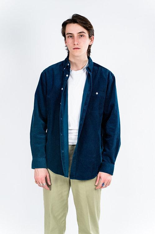 Cord shirt - Teal Blue