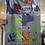 Thumbnail: Dinosaur pinafore dress