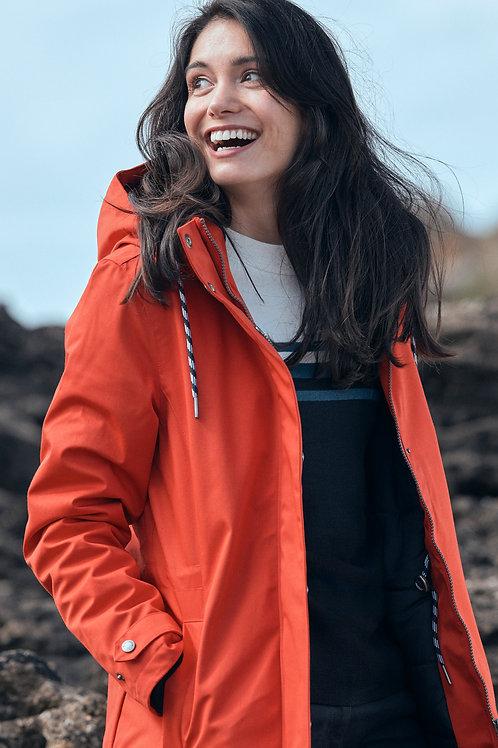 Tangerine waterproof jacket