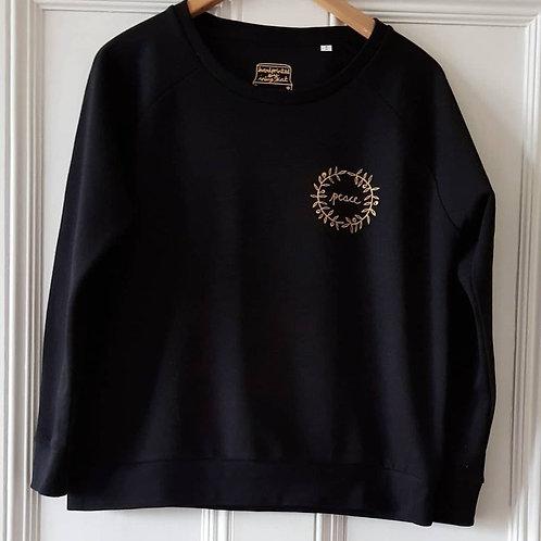 Peace and Dove sweatshirt - black