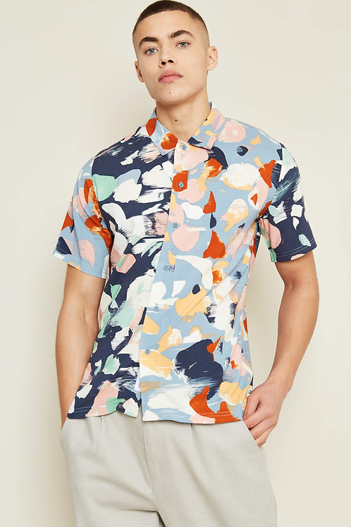 Abstract paint splash shirt