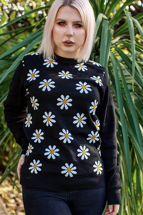 Daisy black jumper