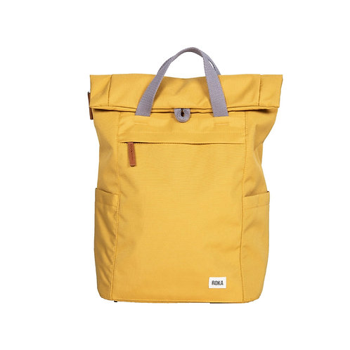 ROKA Sustainable Backpack - FINCHLEY A - SMALL - Flax