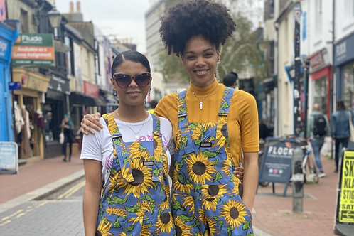 Sunflower Stretch Twill Dungarees
