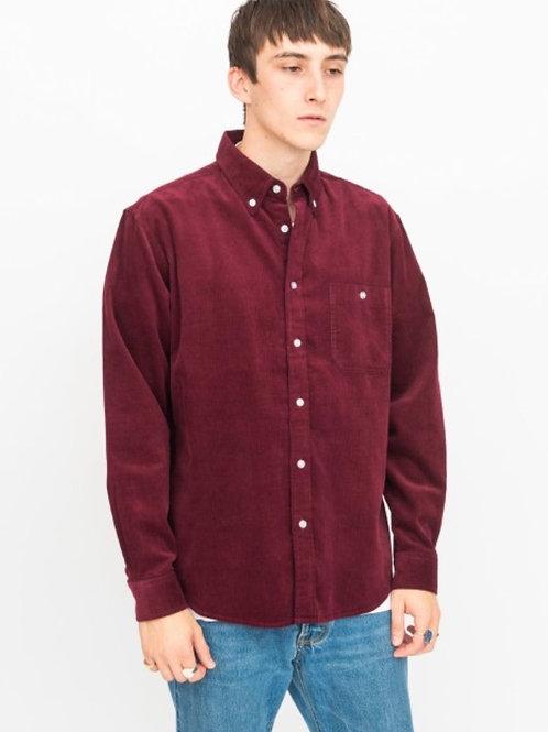Cord burgundy shirt