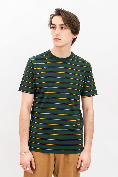Pocket tee - green/yellow