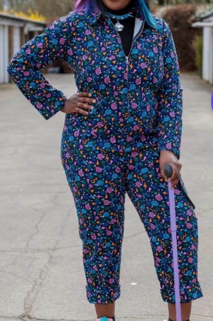 Memphis 90's Stretch Twill Boiler Suit