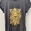 Thumbnail: Lion print t-shirt - stonewash black