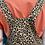 Thumbnail: Leopard twill cotton dungarees