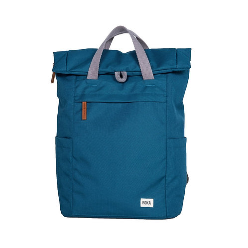 ROKA Sustainable Backpack - Finchley A - SMALL - Marine