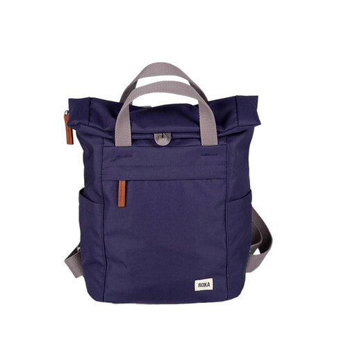 ROKA Sustainable Backpack - FINCHLEY A - SMALL - Ocean