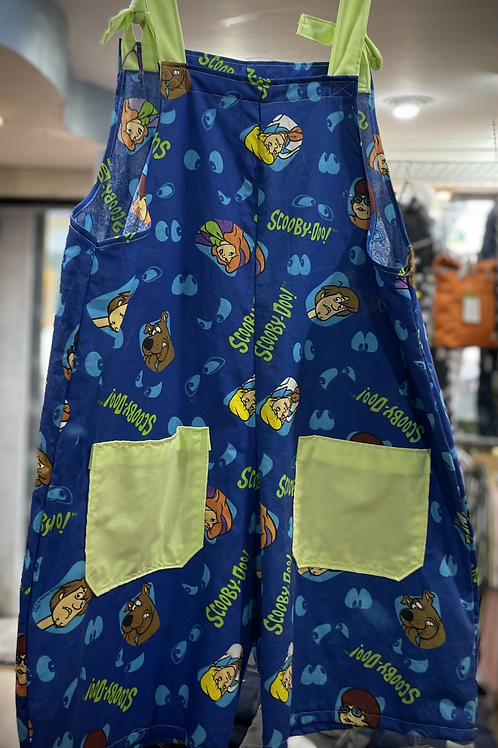 Scooby Doo dungaree shorts