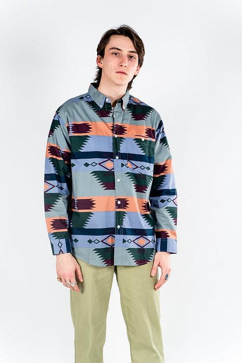 Southwest shirt - Blue Taupe