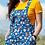 Thumbnail: Daisy & Ladybird Dungaree Shorts