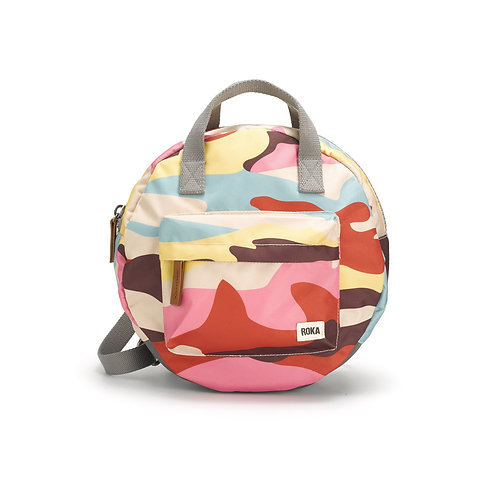 Roka PADDINGTON B sustainable backpack - Camo
