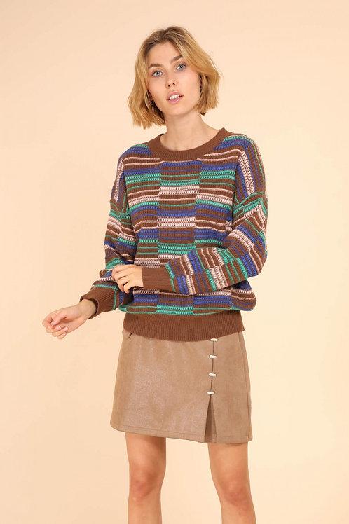 striped knit