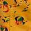 Thumbnail: Rainbow Dino corduroy pinafore dress