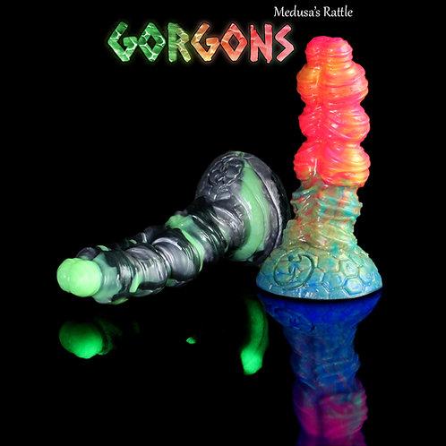 Gorgons (Medusa's) Rattle dildo