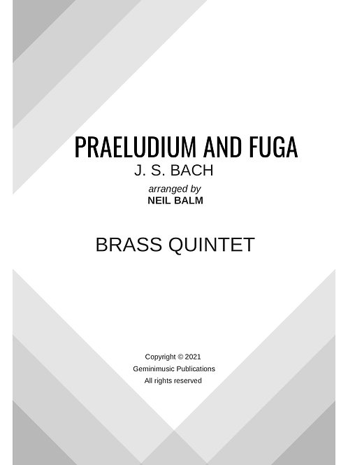 Praeludium and Fuga