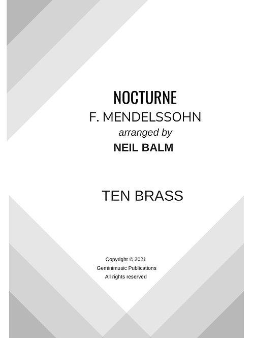 Nocturne from Midsummer Nights Dream - Mendelssohn