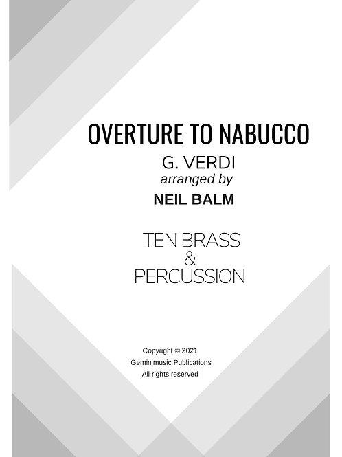 Nabucco Overture - G. Verdi