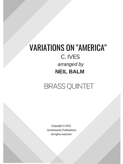 Variations on America - C. Ives
