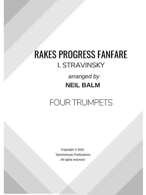 Rakes Progress Fanfare - I. Stravinsky