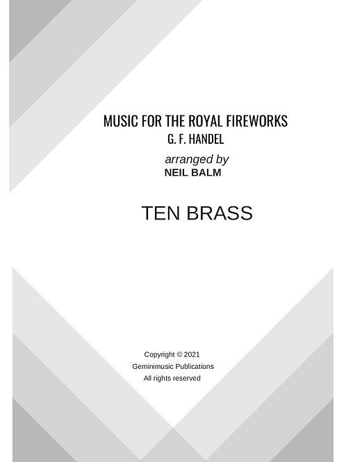 Music for the Royal Fireworks - G.F. Handel