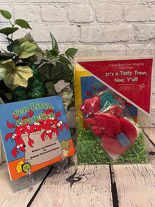 Ten Little Crawfish Infant Gift Set