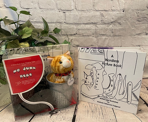 Junk: A Wordless Picture Book Gift Set