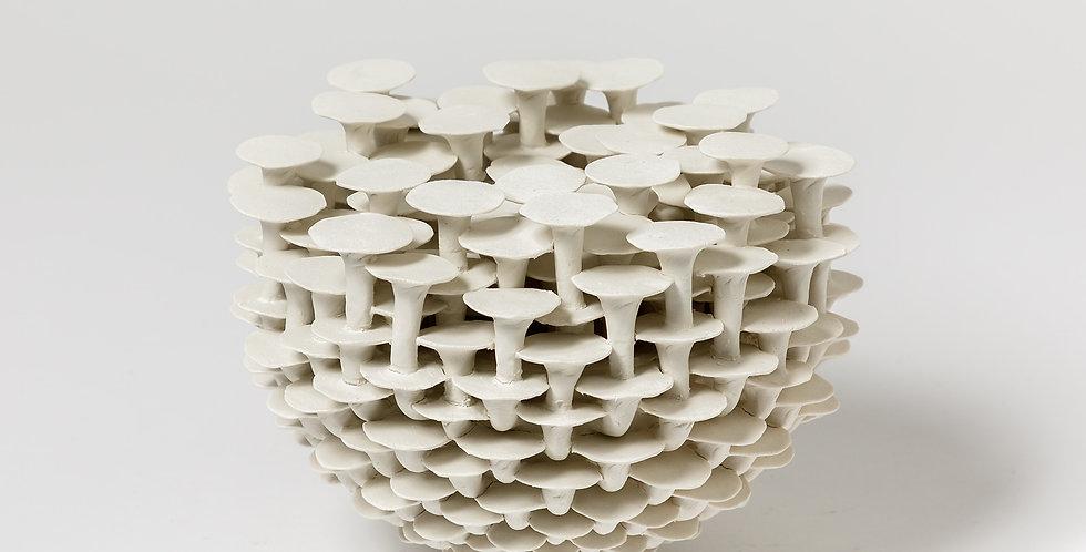 Solstice #74 , porcelaine ,Mart Schrijvers, 2020
