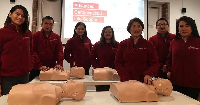 Healthforce AHA instructors
