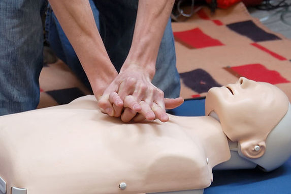 Basic Life Support (BLS) dummy simulation