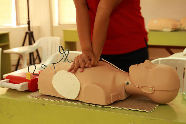 Heartsaver First Aid CPR AED bannner image